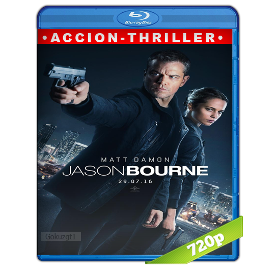 Jason Bourne HD720p Lat-Cast-Ing 5.1 (2016)