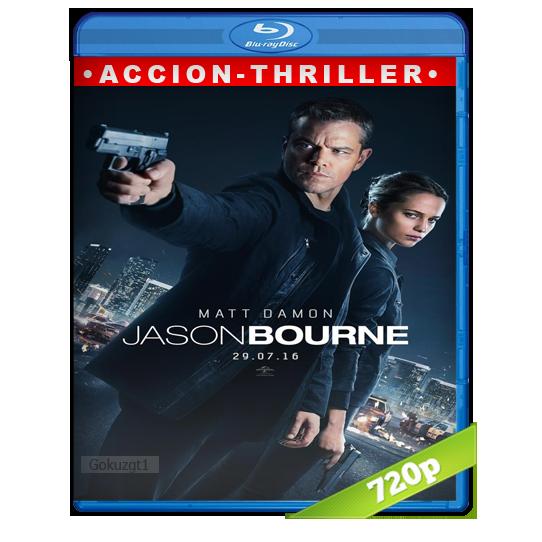 Jason Bourne [2016][BD-Rip][720p][Lat-Cas][Accion]