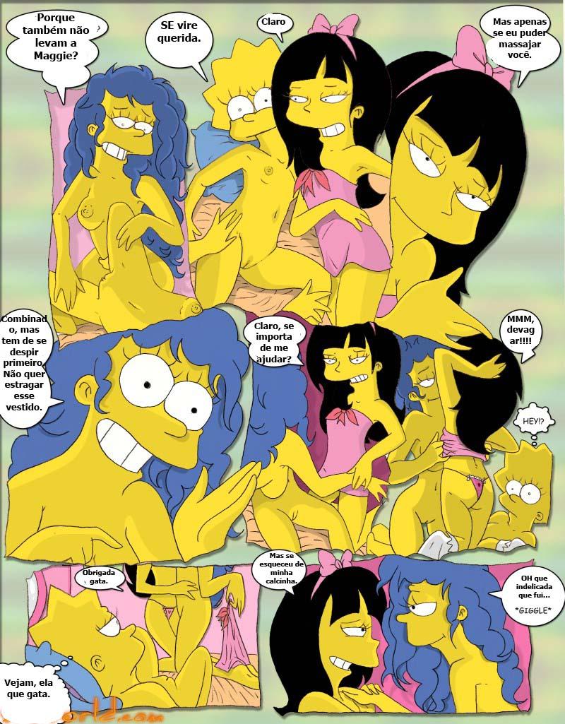 Simpcest porno komiks