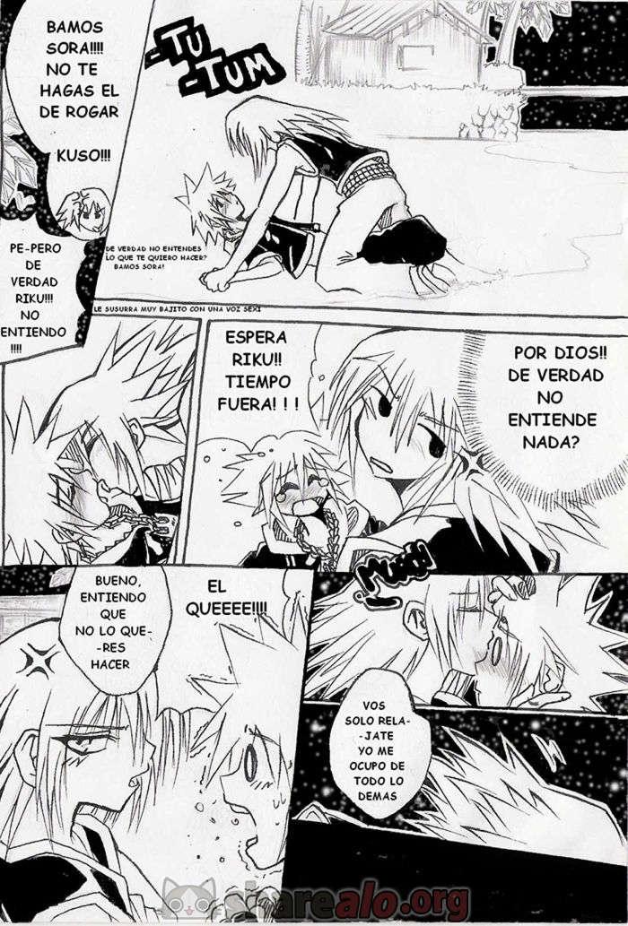 [ Unknown Kingdom Hearts Yaoi Doujin (Sora y Riku Sexo Caliente) ]: Comics Porno Manga Hentai [ UyB1W300 ]