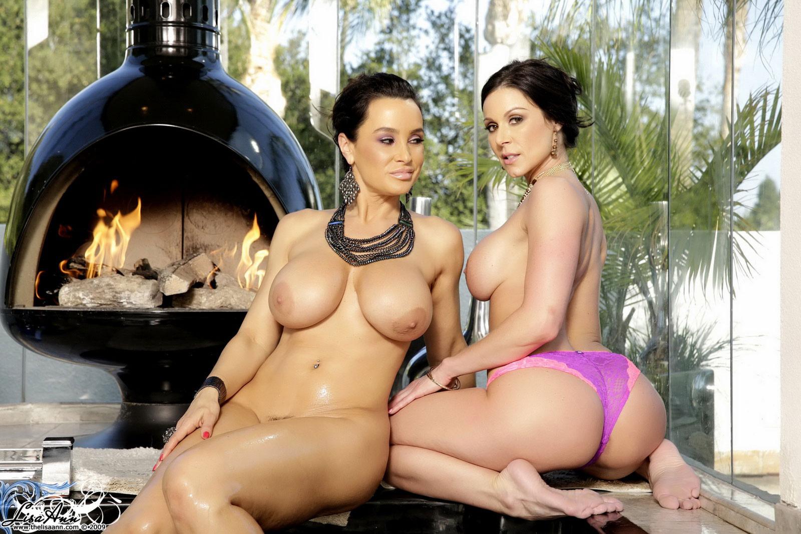 Kendra Lust y Lisa Ann - dos divas sexuales y muy cachondas