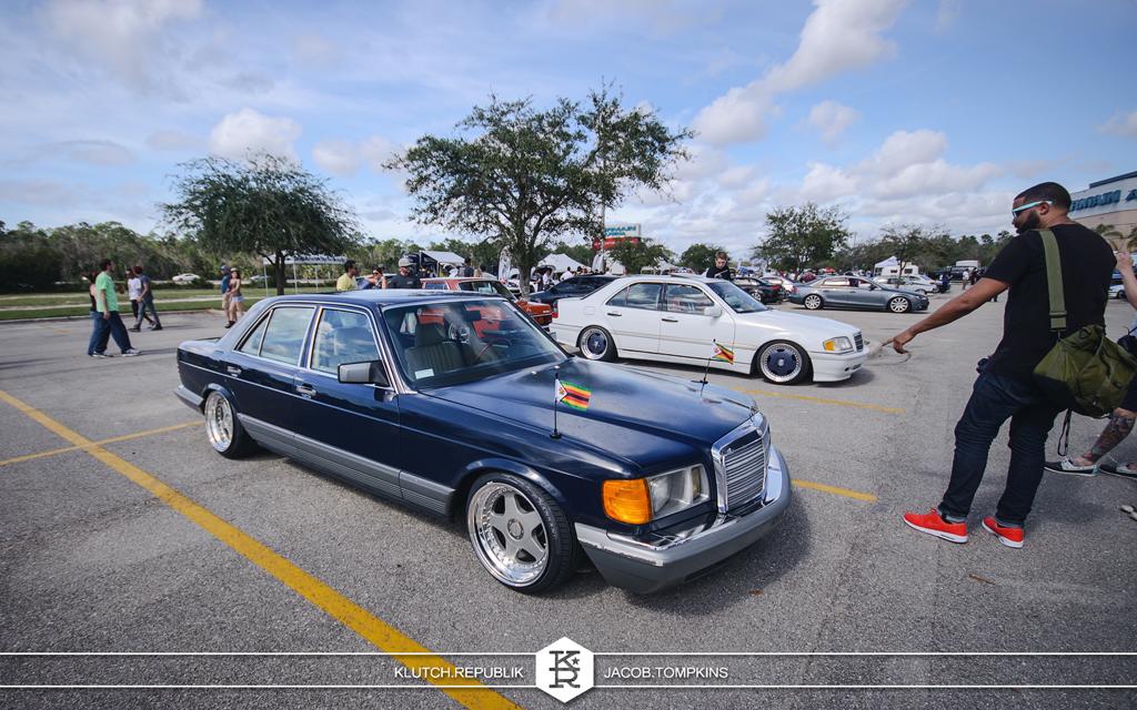 slammed stanced classic mercedes benz s class