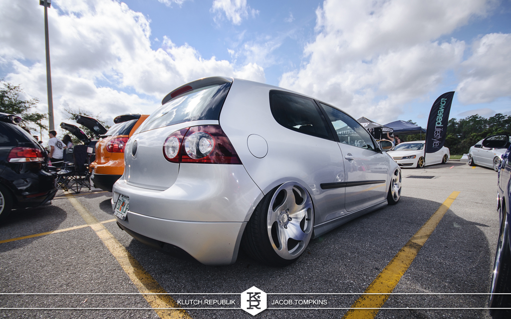 air bagged mk5 gti on WCI wheels