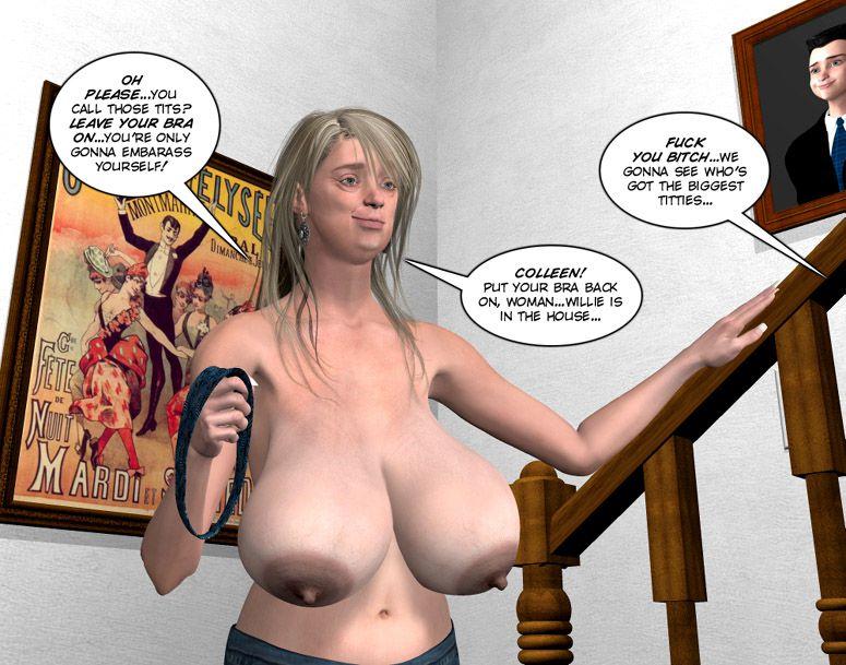3D INCEST  3d Drawn Porn