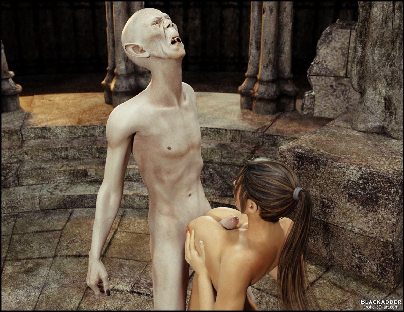3d naked monster vampire raider sex films