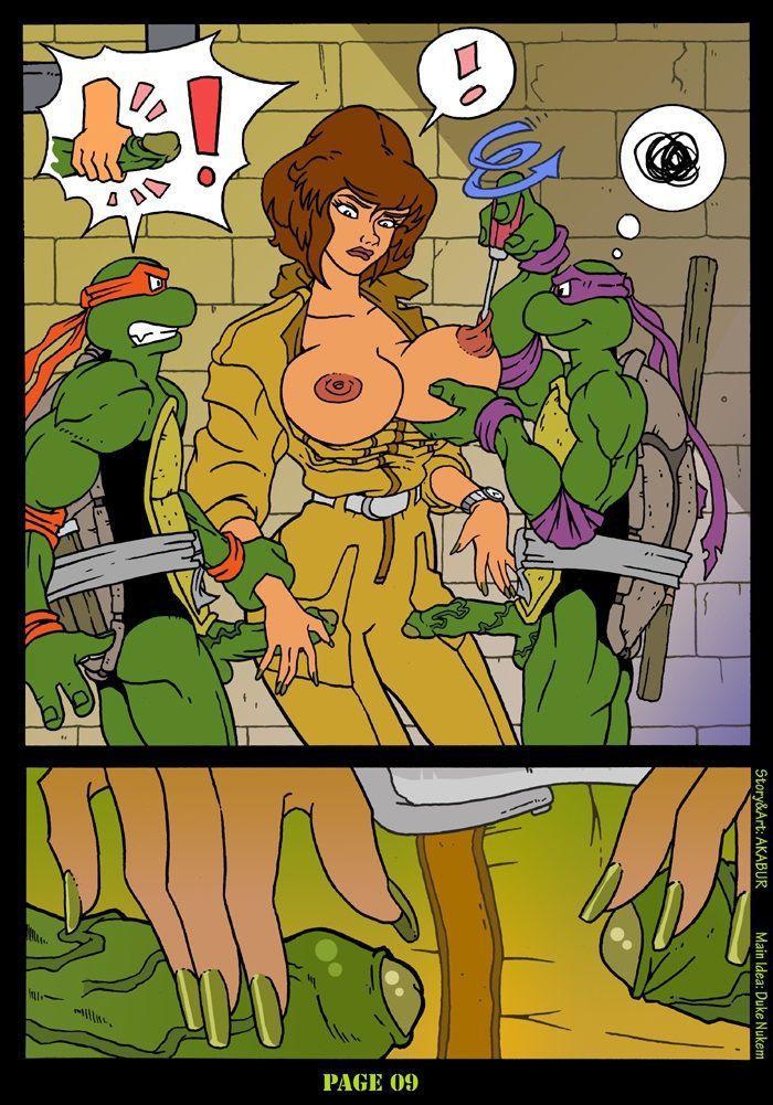 Порно комикс черепашки 69206 фотография