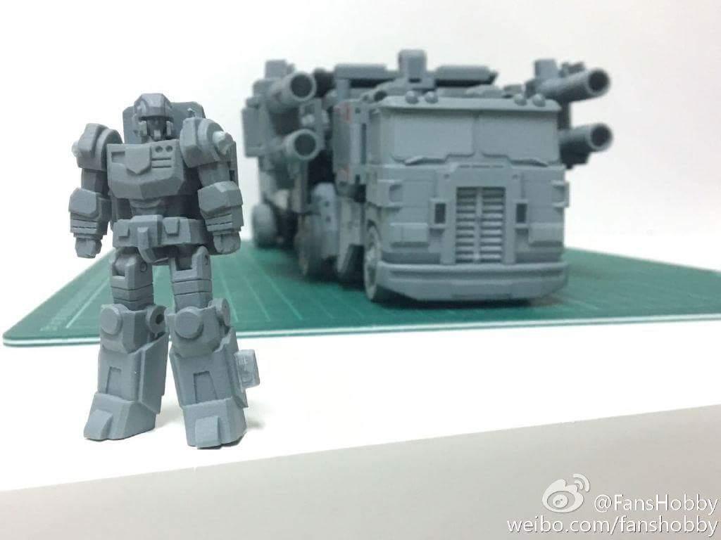 [FansHobby] Produit Tiers - MB-06 Power Baser (aka Powermaster Optimus) + MB-11 God Armour (aka Godbomber) - TF Masterforce VTa6s5k8