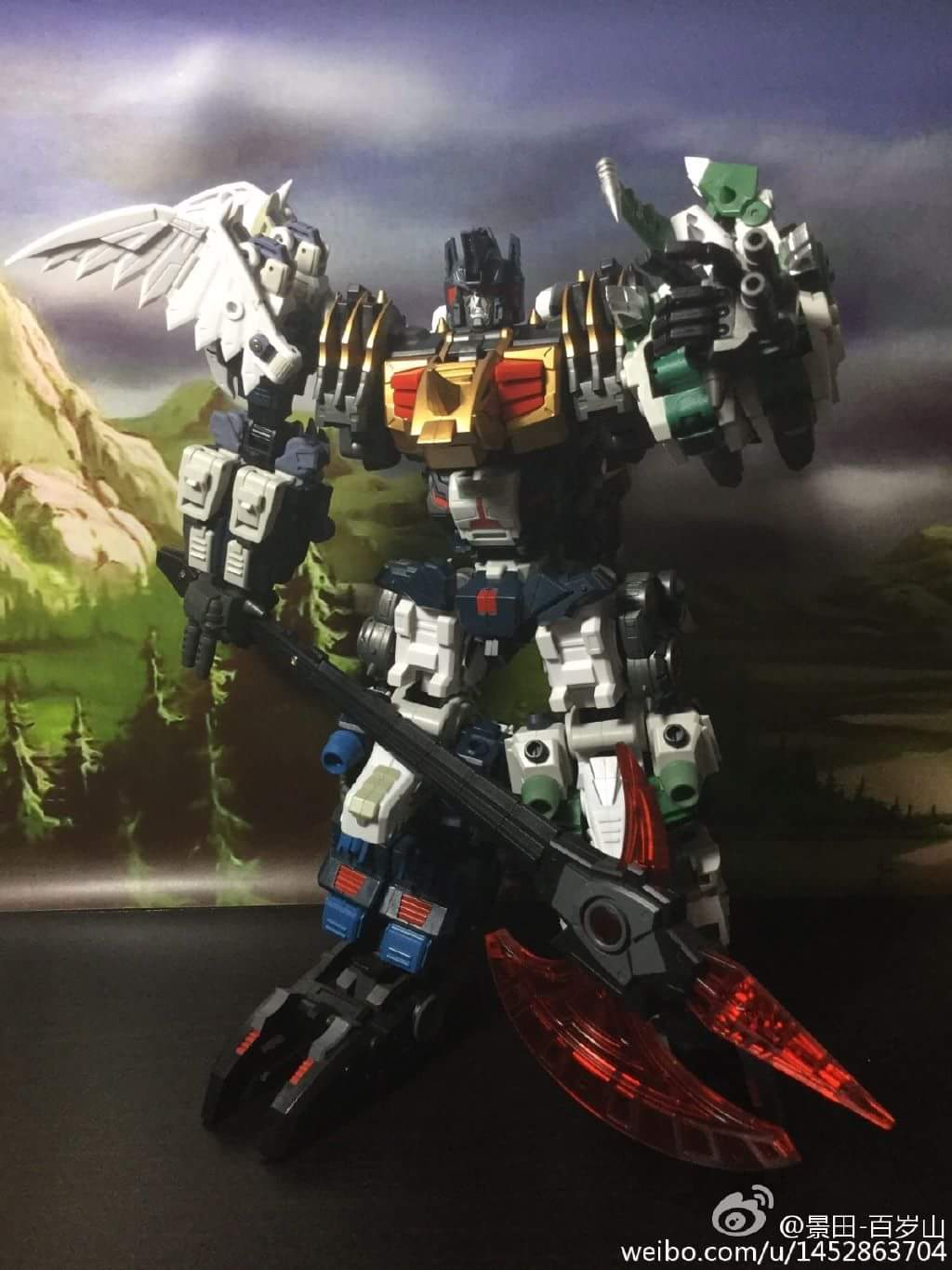 [FansProject] Produit Tiers - Jouet Saurus Ryu-oh aka Dinoking (Victory) | Monstructor (USA) - Page 2 6qefCfyr
