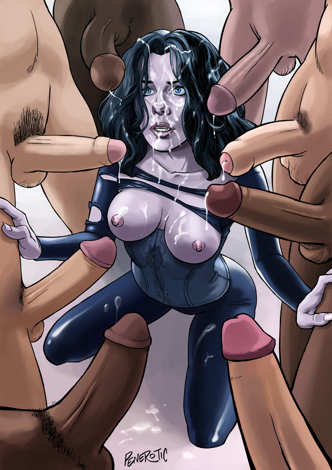 Порно комиксы другой мир