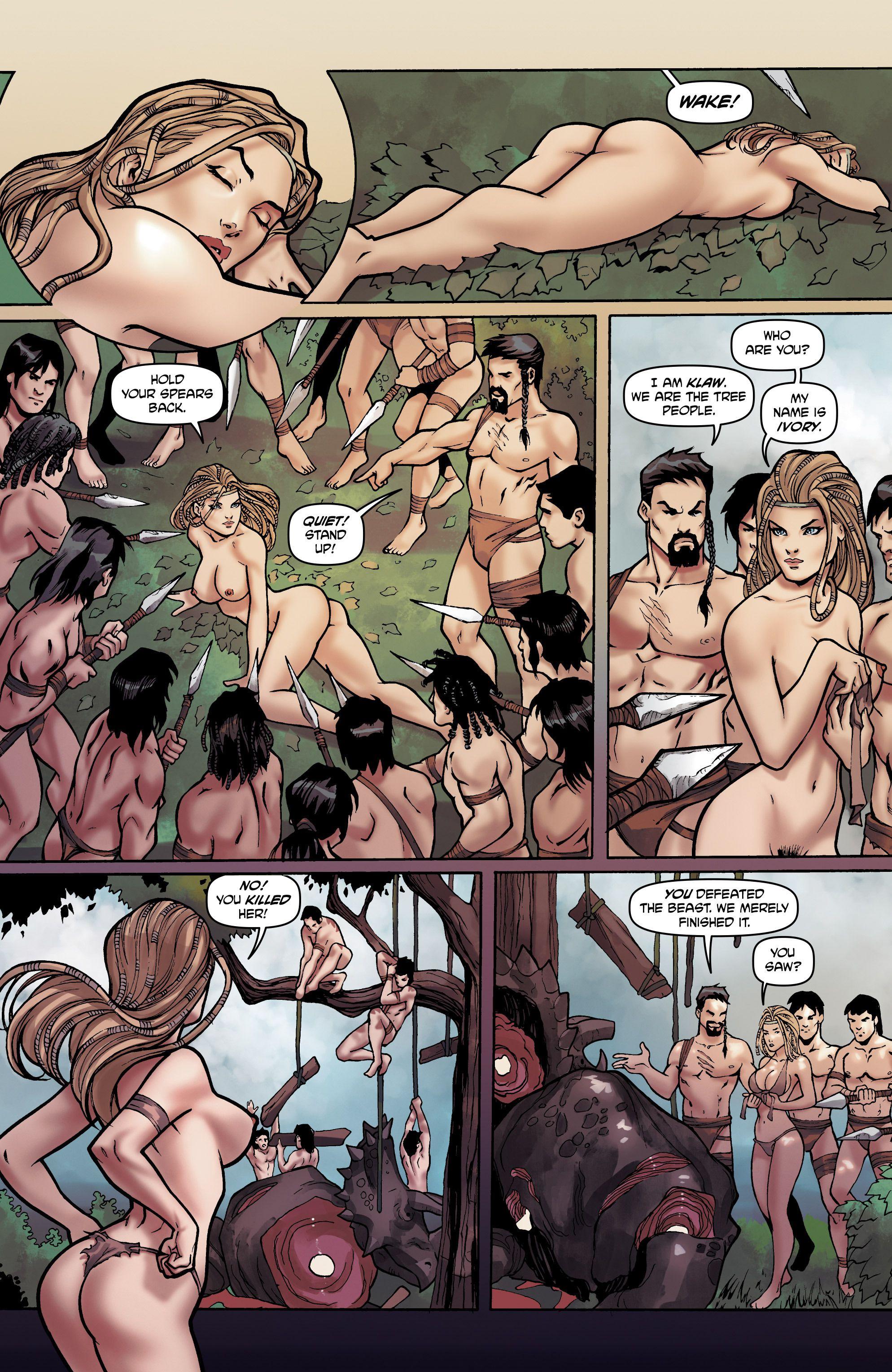 Jungle porno Comics noir chaud pussys