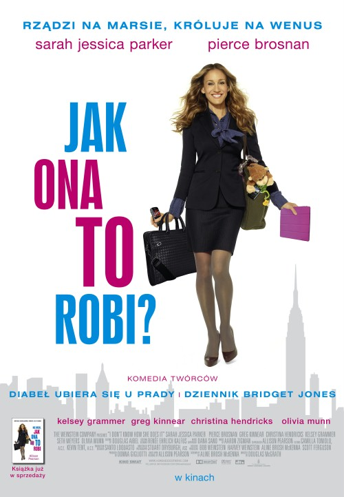 Jak Ona To Robi / I Don't Know How She Does It (2011) SUB.PL.720p.BRRip .XviD.AC3-WiZARDS | Napisy PL