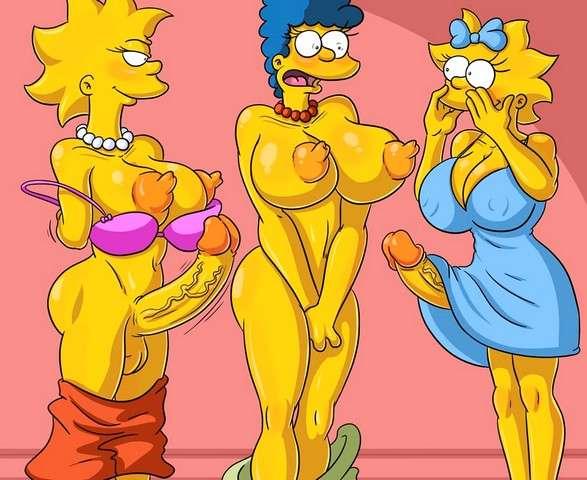 Mujeres Simpson futanari