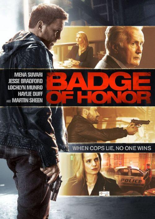 Kwestia Honoru / Badge Of Honor (2015) PL.BRRip.XviD-KLiO / Lektor PL