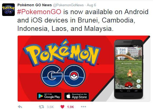 Pokemon Go Indonesia