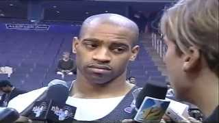 Interview with Vince Carter at NBA All Star Game 2001