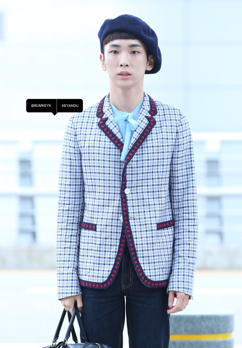 [IMG/160715] Jonghyun, Key @ Aeropuerto Incheon hacia Japón. PxkwVrAx