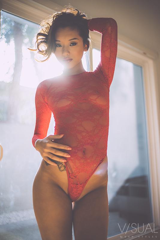 Alina Li Lenceria Roja