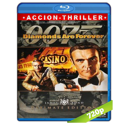 descargar 007 Los Diamantes Son Eternos 720p Lat-Cast-Ing 5.1 (1971) gartis