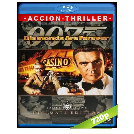 007 Los Diamantes Son Eternos (1971) BRRip 720p Audio Trial Latino-Castellano-Ingles 5.1