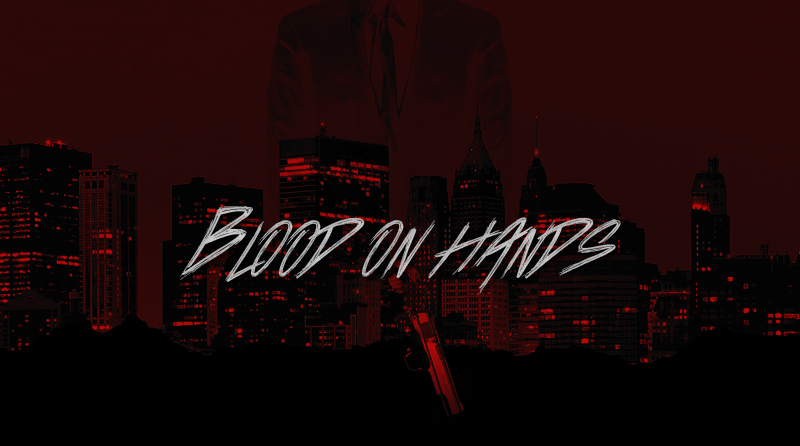 BLOOD ON HANDS