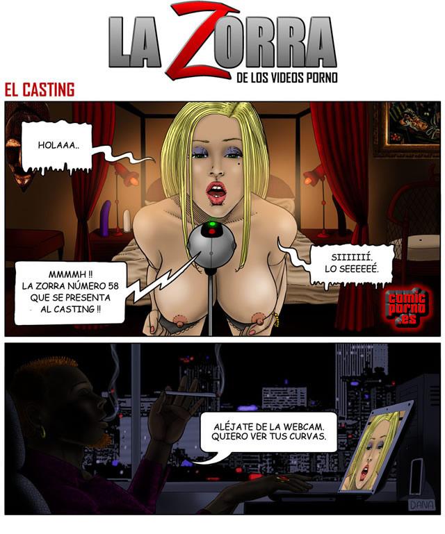 LA ZORRA VPS. Cómic porno 1