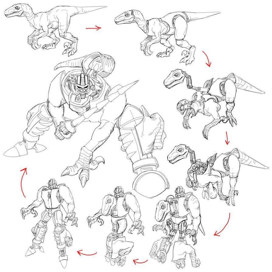 [Masterpiece] MP-41 Dinobot (Beast Wars) Q29yK5xk