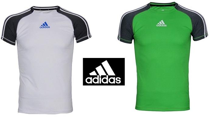 quality design 9c9e2 dbe6d Adidas Big Boys Athletic Performance Climate 3-Stripe Short Sleeve T-Shirt