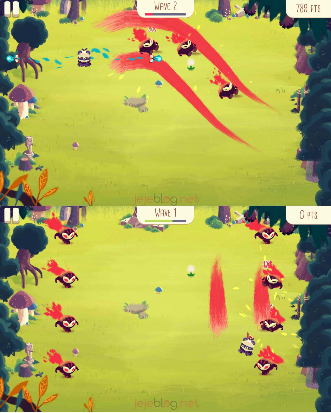 review game bushido bear