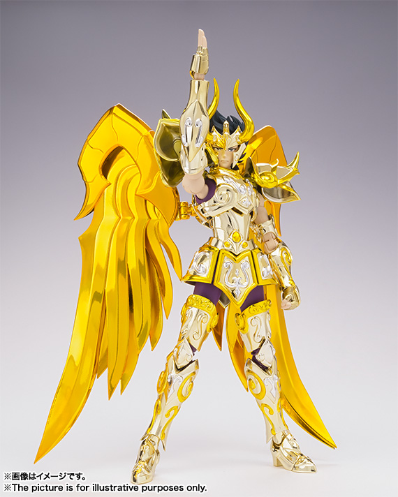 [Myth Cloth EX] Soul of Gold - Capricorn Shura Gold Cloth UaCwQLCT