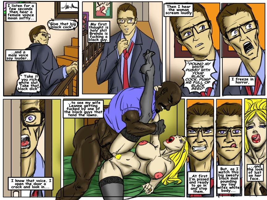 Межрасовые порно фото комиксы