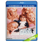 Austin Powers (1997) BRRip 720p Audio Trial Latino-Castellano-Ingles 5.1