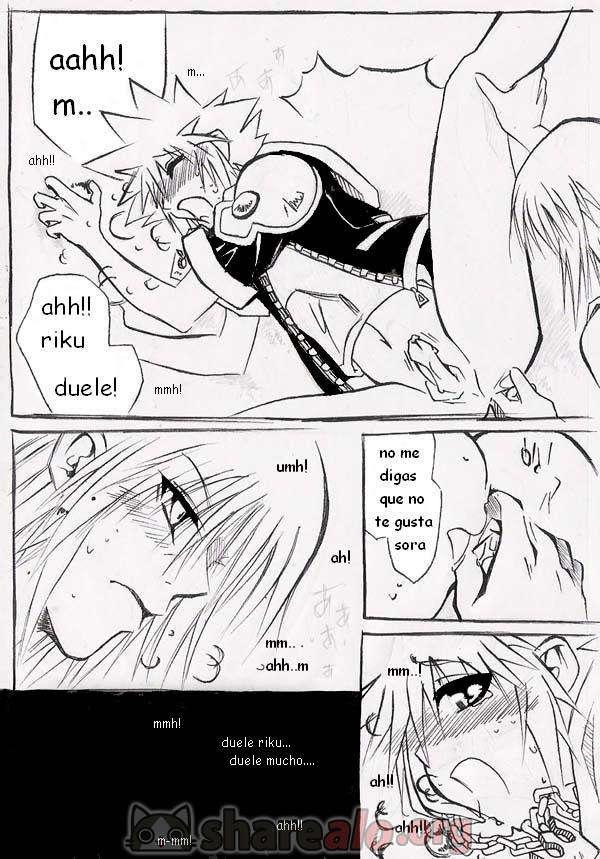 [ Unknown Kingdom Hearts Yaoi Doujin (Sora y Riku Sexo Caliente) ]: Comics Porno Manga Hentai [ dJXqXpE7 ]