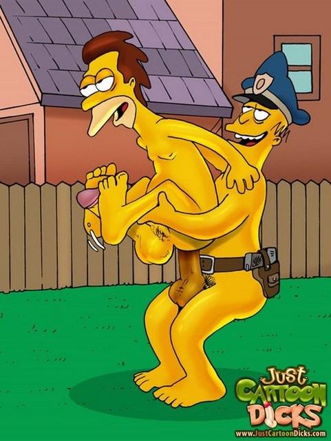lenny porno gay policia