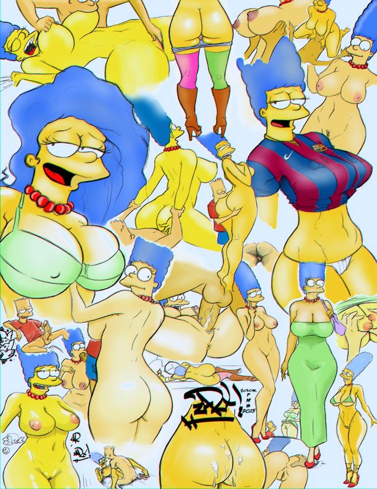 Симпсоны порно комиксы все