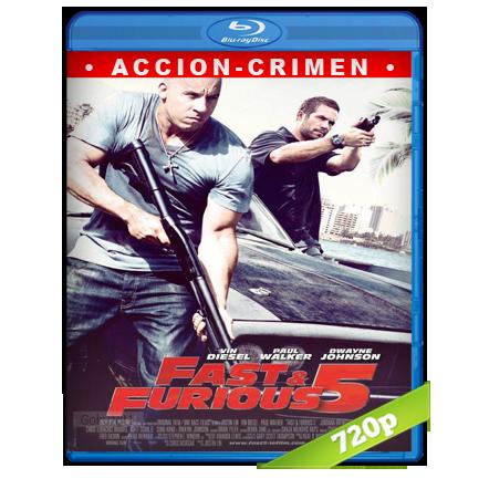 Rapido Y Furioso 5 (2011) BRRip 720p Audio Trial Latino-Castellano-Ingles 5.1