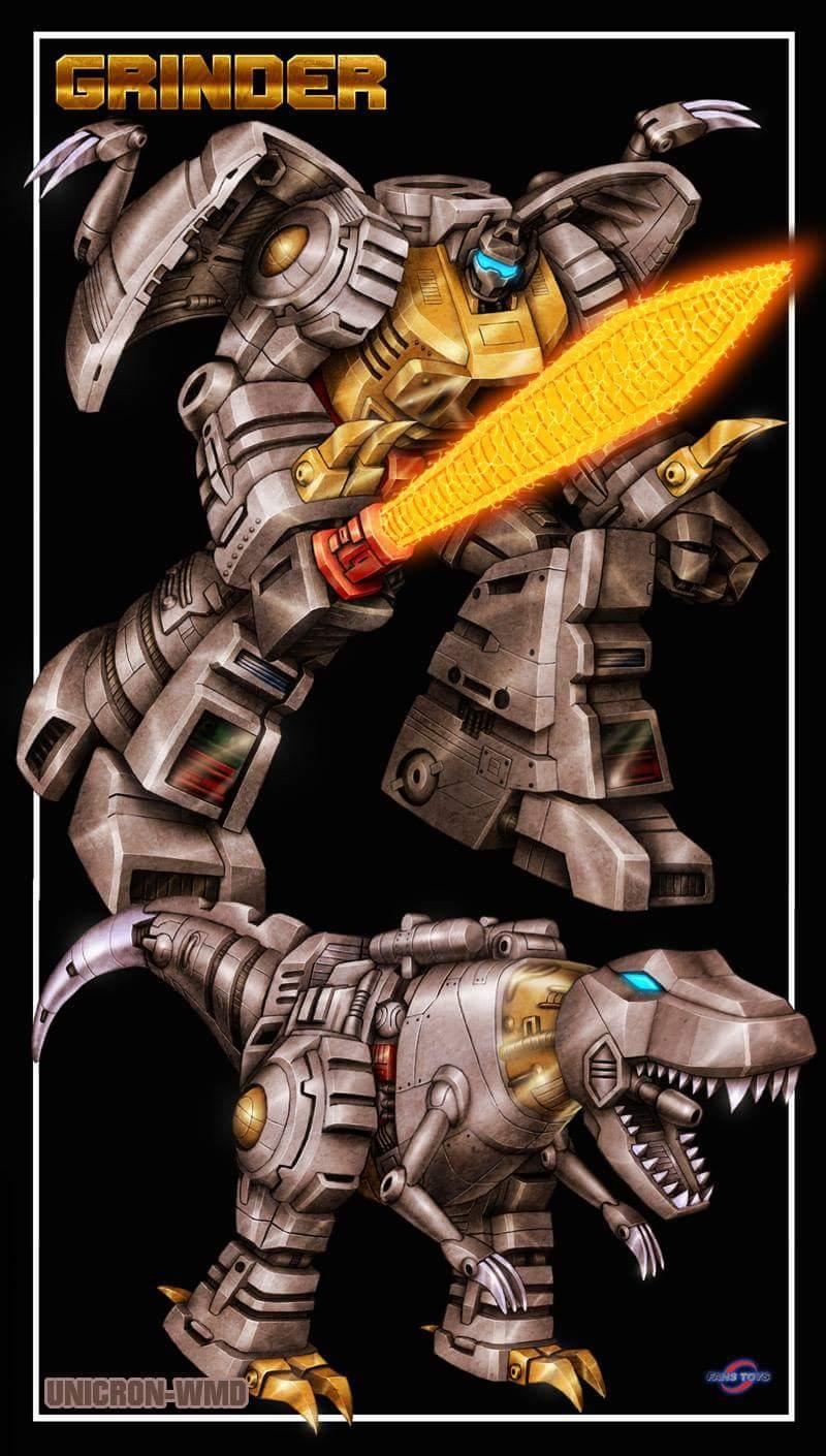 [Fanstoys] Produit Tiers - Dinobots - FT-04 Scoria, FT-05 Soar, FT-06 Sever, FT-07 Stomp, FT-08 Grinder - Page 11 UjCkxh9V