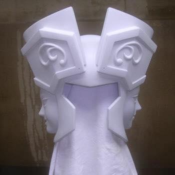 Processo de criação da Armadura de Gemeos para a exibição de Pachinko PQmRelWo