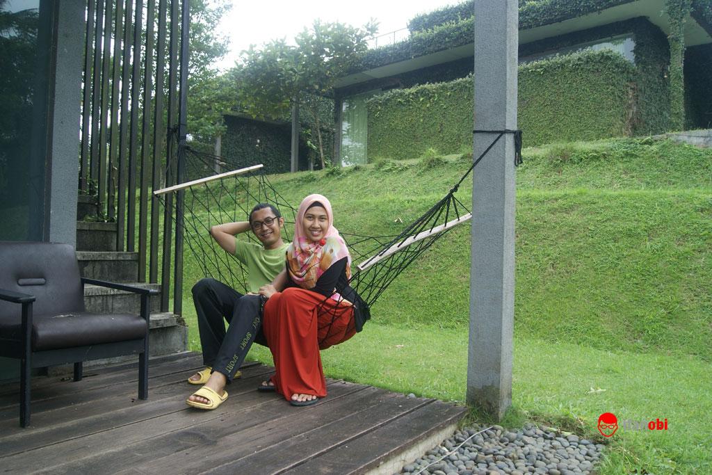 Teras depan Tea Garden Resort