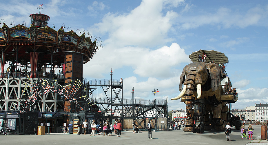 Must see in Nantes: Les machine des L'Île