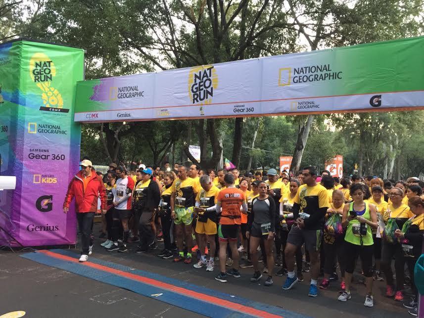 Beneficia a delegaciones de la CDMX carrera Nat Geo Run 2017