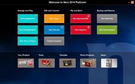 Nero 2014 Platinum 15.0.09300 Incl Patch - 2
