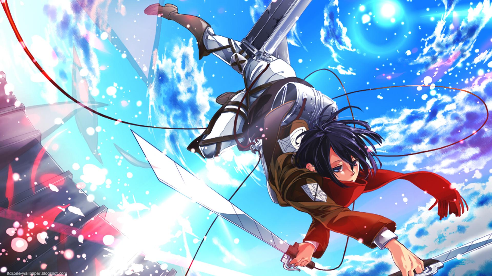Hd zone wallpaper shingeki no kyojin page 3 - Eren and mikasa wallpaper ...