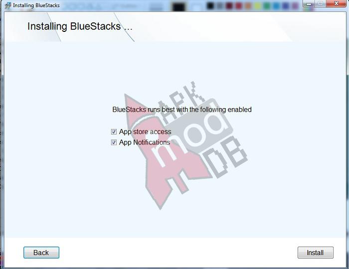 bluestacks app notifications