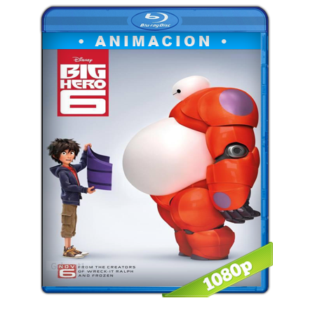 Grandes Heroes 1080p Lat-Cast-Ing 5.1 (2014)