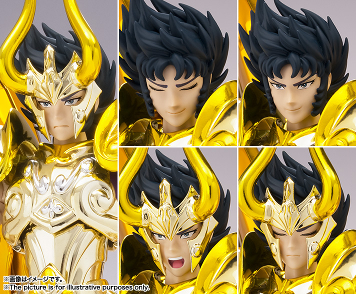 [Myth Cloth EX] Soul of Gold - Capricorn Shura Gold Cloth 2GR99lMb