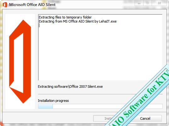 AIO Microsoft Office Silent | Software Silent - Bộ cài đặt phần mềm cần thiết cho Windows