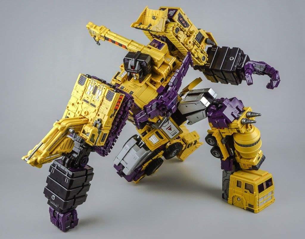 [Toyworld] Produit Tiers - Jouet TW-C Constructor aka Devastator/Dévastateur (Version vert G1 et jaune G2) - Page 8 JHDfSBpu