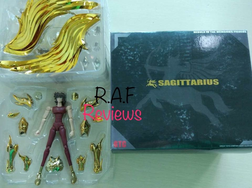 [Great Toys] Myth Cloth Ex Sagittarius Aiolos Soul of Gold