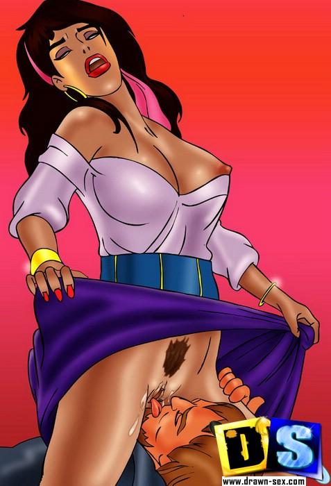 porno esmeralda notre dame