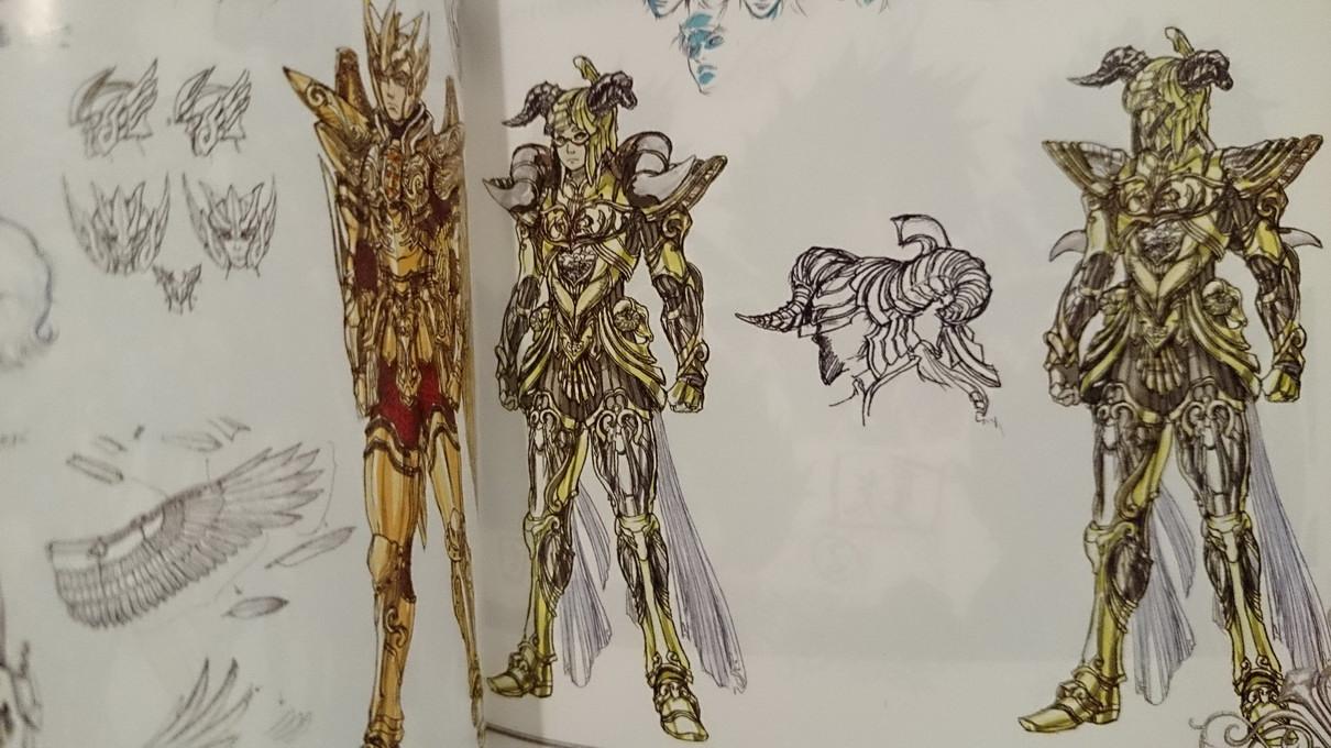 Artbook Saint Seiya Legend of Sanctuary JtxDymOU